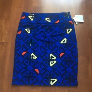 New with tag. Lularoe pencil skirt. Size 3XL.